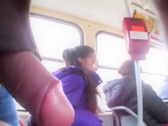 What a thing to do in a crowded bus