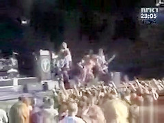 Wild sex on the stage