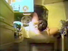 Voyeur places a cam above the toilet and sees his mom peeing