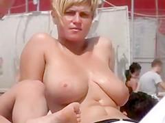 breast bikini girl Big