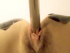 Horny peeper Amateur sex clip