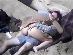 Pussy Slip At Beach