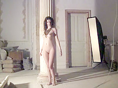 girls Skinny tied anorexic nude