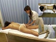 Lesbian hidden massage