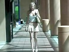 Public Flashing Upskirt