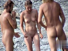 Nude Beach. Voyeur Video 282