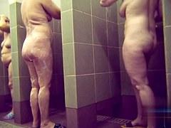 Hidden cameras in public pool showers 57