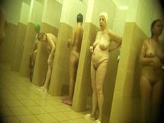 Hidden cameras in public pool showers 64