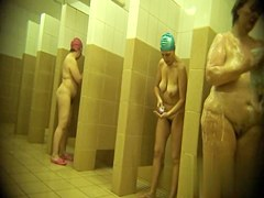 Hidden cameras in public pool showers 178