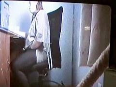 Hidden sex cam filmed a sexy bimbo masturbating