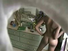 Nude Sister hidden cam