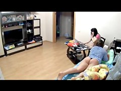 Voyeur cams at girls home 04