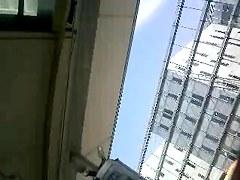 Private voyeur clip is showing a gorgeous chick