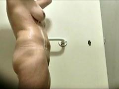 Dutch milf voyeur shower