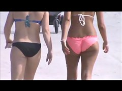candid beach teens jiggly tits and fat booty spy 13