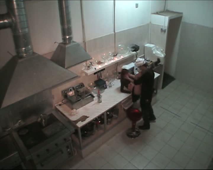 Hidden sex in the kitchen