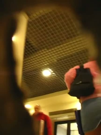 Upskirt shots collection in this slow motion voyeur video