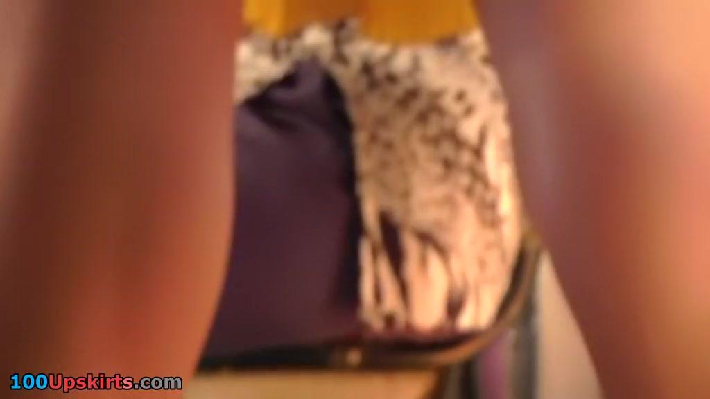 Indeed stylish upskirt closeup