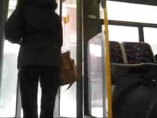Teen voyeur in bus hot tight ass