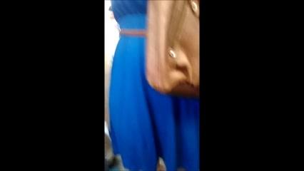 Bunduda de vestido colado