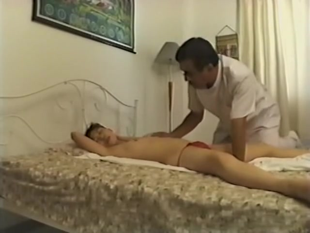Skinny slut fingered hard in hidden cam massage video