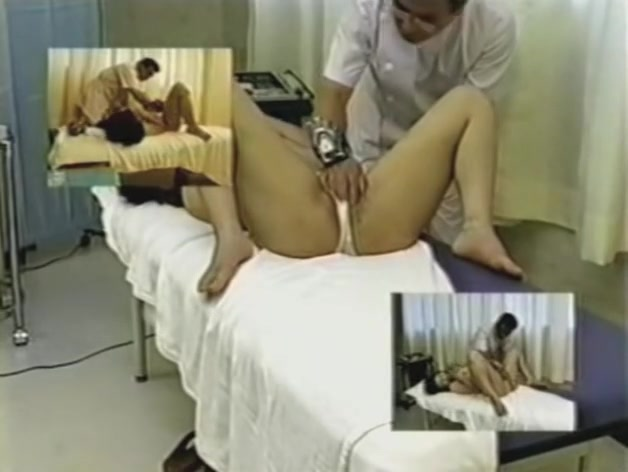 Tall Asian gets rubbed in voyeur erotic massage video