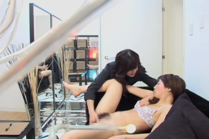True voyeur movie in which two japanese lesbians act dirty