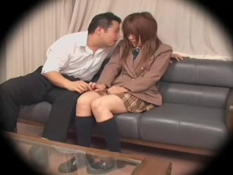 Short chubby Japanese teen dicked silly on a hidden cam