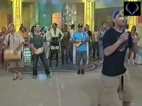 Brazilian teens showing their hot asses up skirt on tv