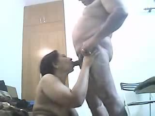 Mom and daddy having fun caught by hidden cam