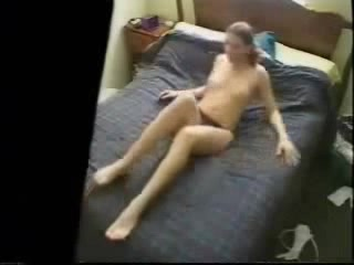 My s ister masturbating watching a porno