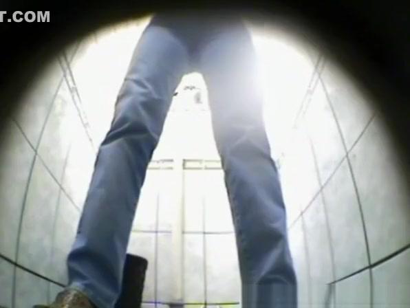 Public toilet with 2 spy cameras