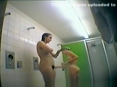 Swim Team Showering