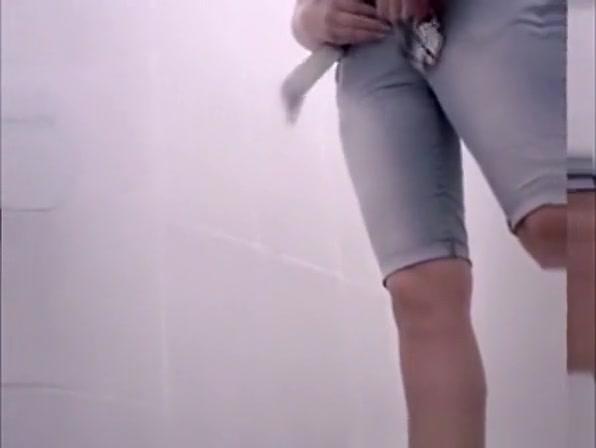 Video compilation of women in public toilet