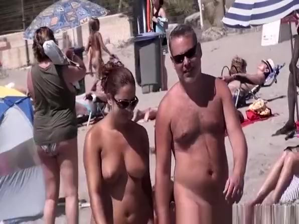 Beach voyeur secretly films naked women