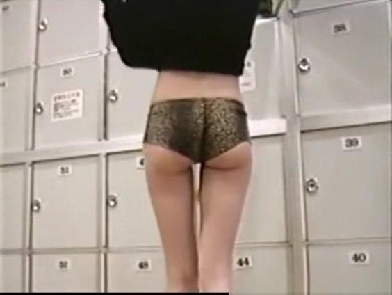 Ladies locker room voyeur