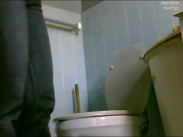 Real amateur chick pissing on hidden cam
