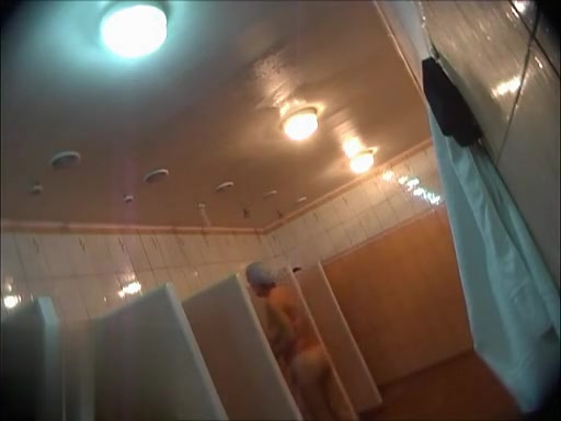 Hidden cameras in public pool showers 972