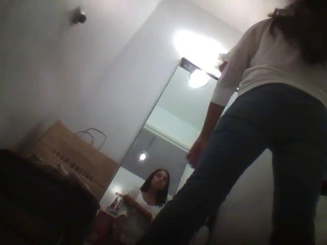 Spying girl