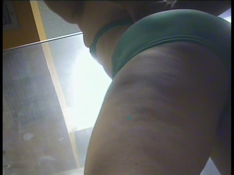 Cellulites butted dressing room amateur also shows tits