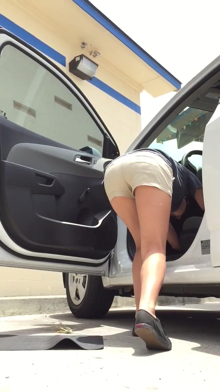 Carwash camera nude candid
